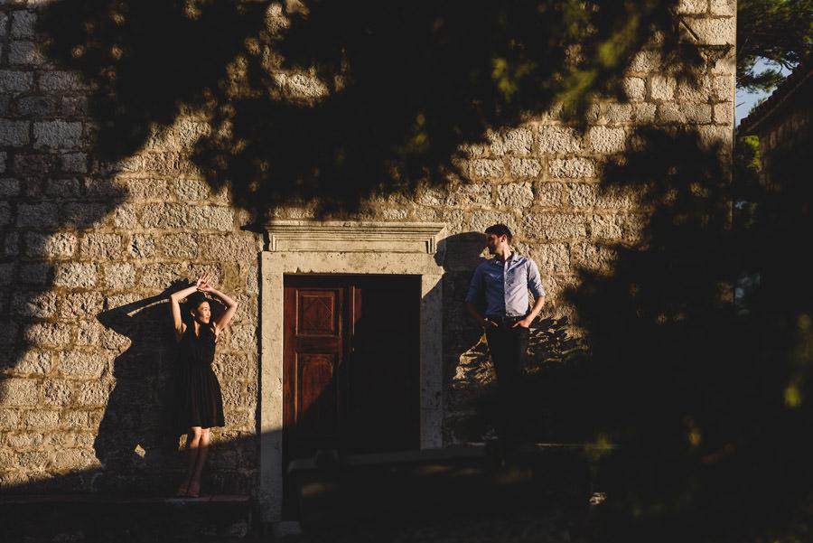 zagraniczna sesja ślubna w Czarnogórze