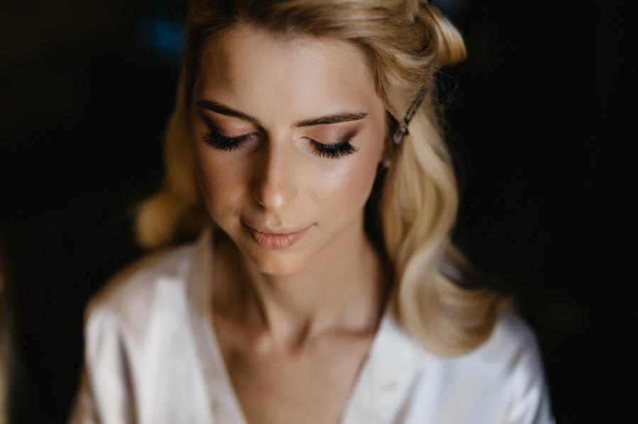 portret panny młodej, makijaż panny młodej, portret kobiety