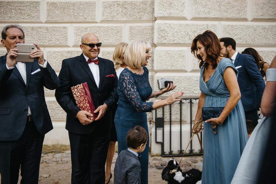 życzenia po ceremonii ślubnej