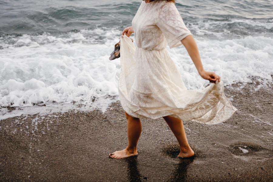 sesja ślubna w hiszpanii, zagraniczny plener ślubny, lmfoto, plener w Maladze, malaga sesja ślubna, plenerowa sesja za granicą, plener ślubny w Hiszpanii, suknia ślubna, panna młoda, sesja na plaży Malaguetta