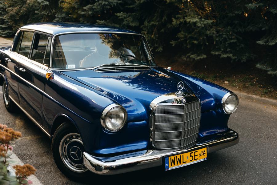 mercedes W111, klasyk, do ślubu, auto do ślubu, elegancki samochód