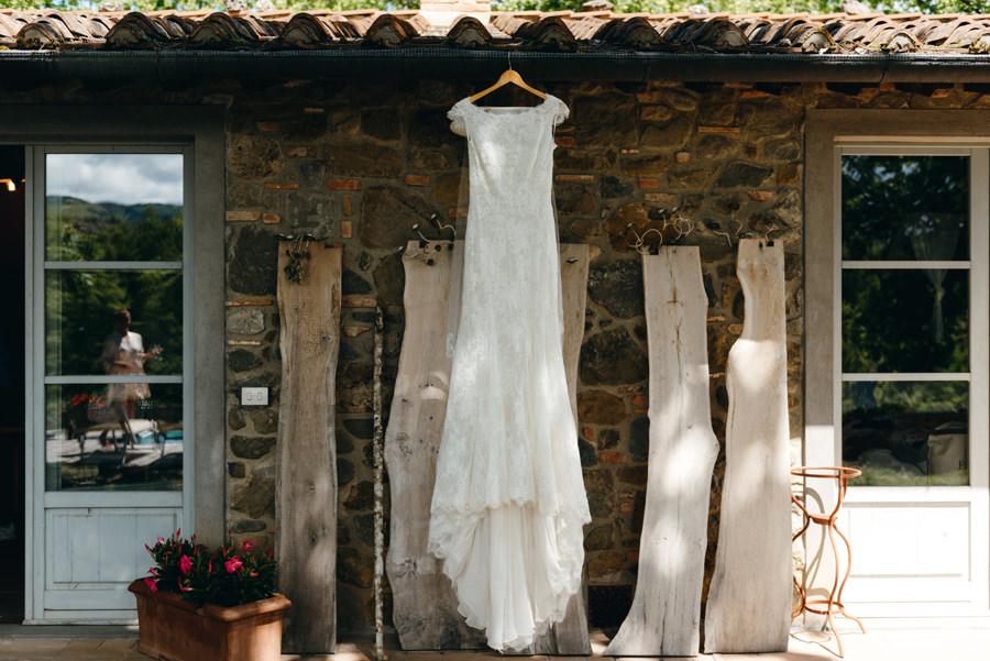 suknia pani młodej, suknia ślubna, rustykalne wesele, boho suknia, ślub w Toskanii