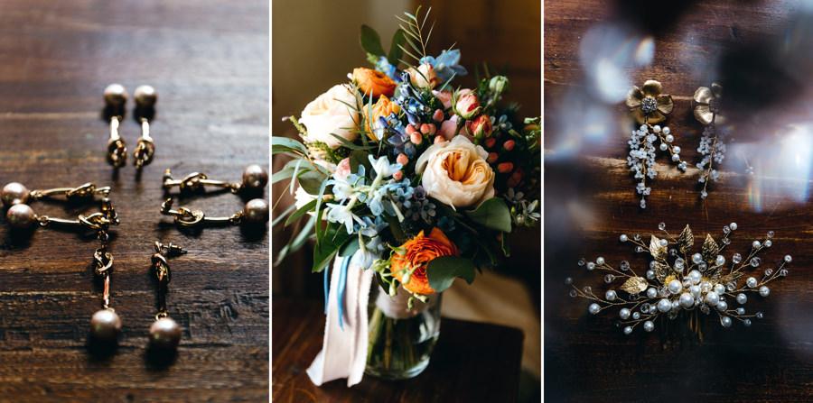 bukiet ślubny, kolczyki do ślubu, detale ślubne, inspiracje ślubne, ślub w Toskanii