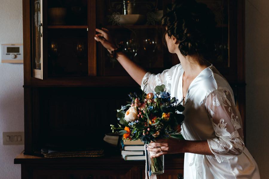 ślub w toskanii, villa giardino del belvedere, bukiet ślubny,