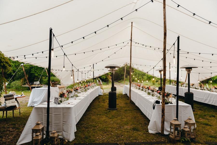 wesele pod namiotem, wesel w toskanii, rustykalne wesele, detale ślubne