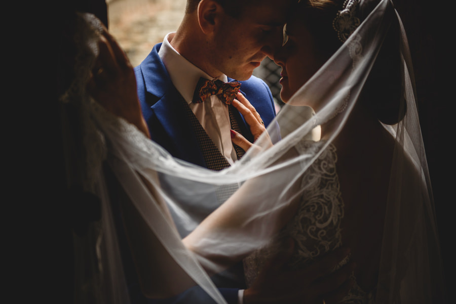 welon, detale ślubne