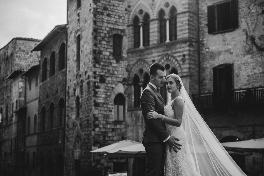 San Gimignano sesja ślubna