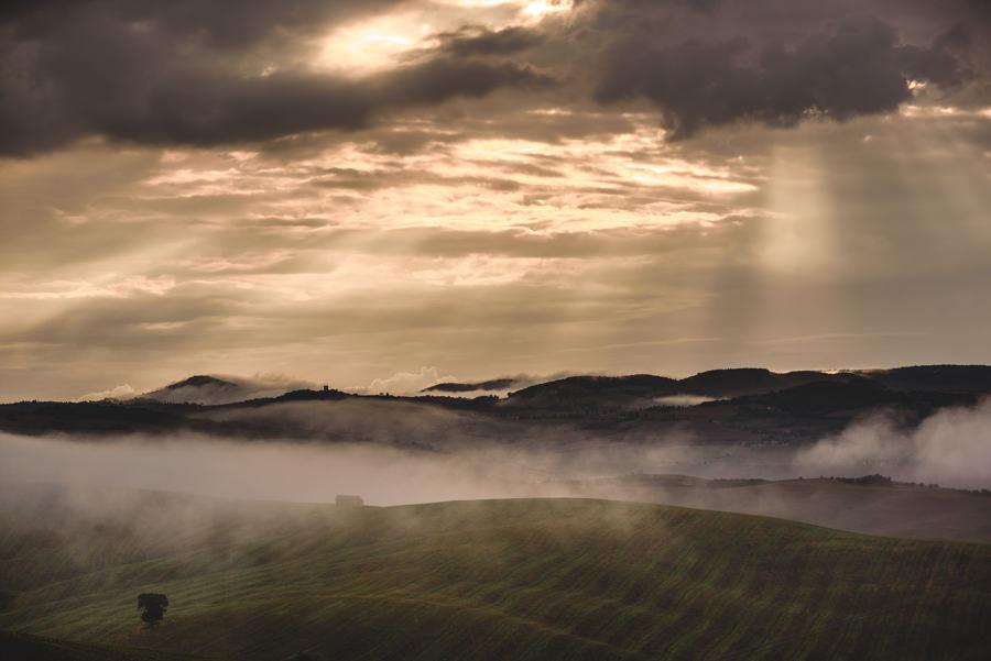 krajobraz w Toskanii