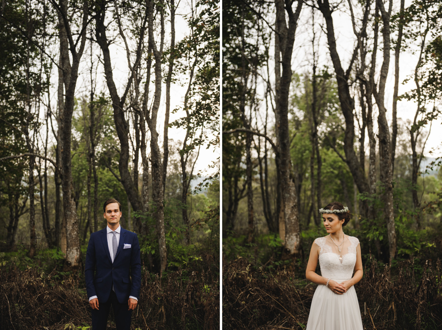 portrety bieszczady las