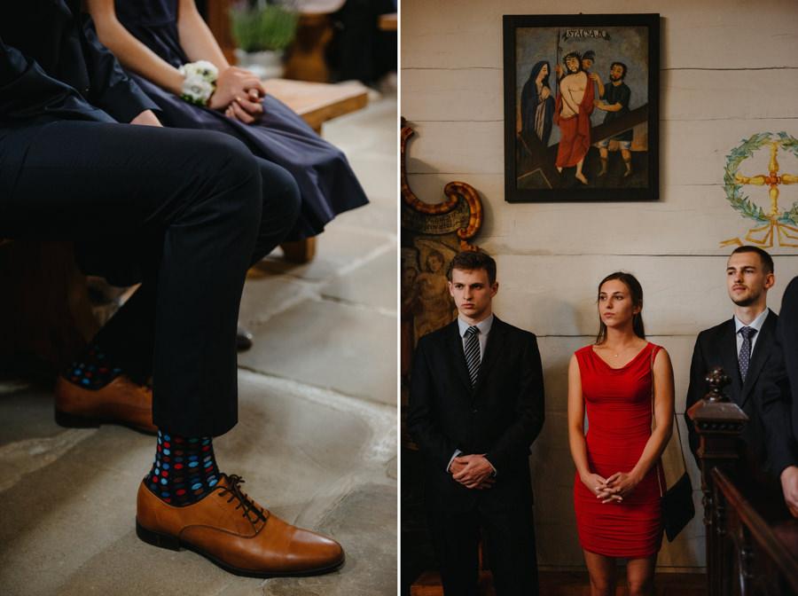 skarpety portret ceremonia