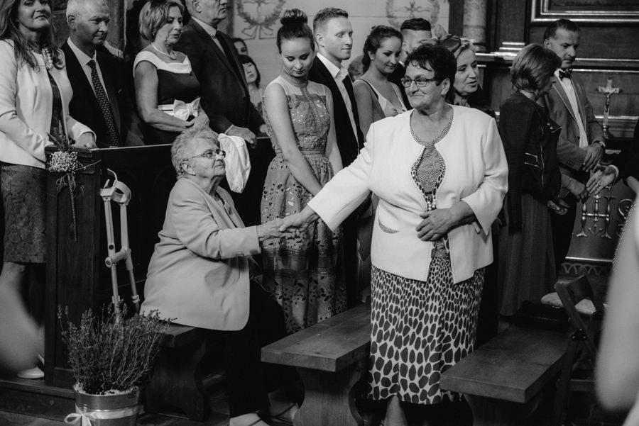 babcia babcie rodzina gest
