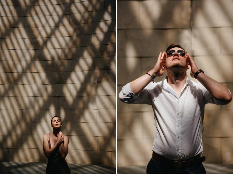swiatocien okulary mara mloda sesja narzeczenska