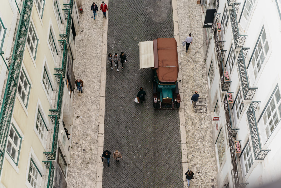 stary samochod ulica