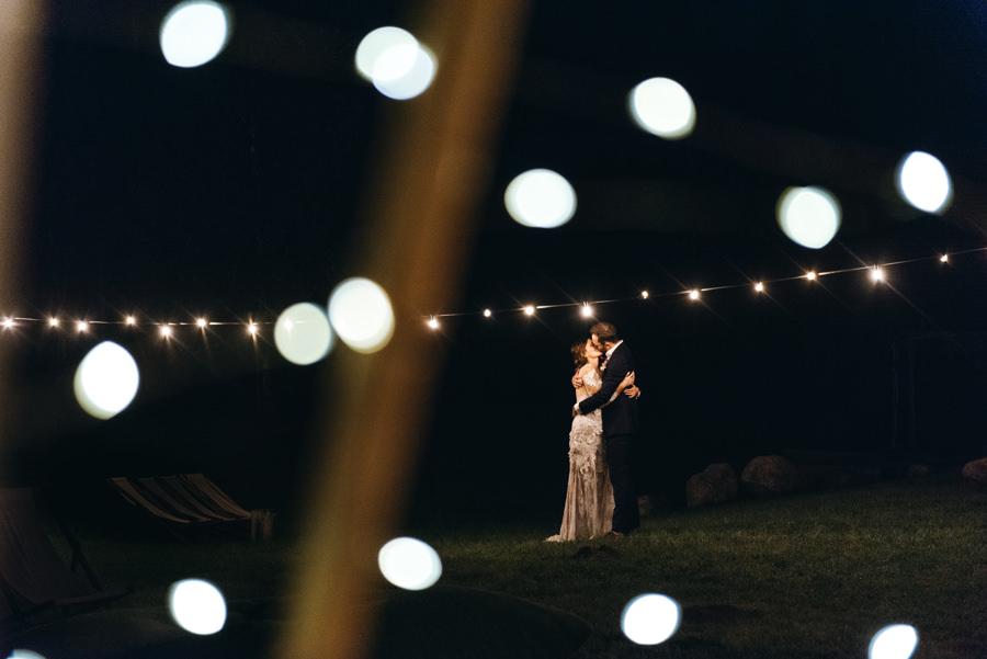 stodoła wszystkich świętych wesele, dekoracja świetlna