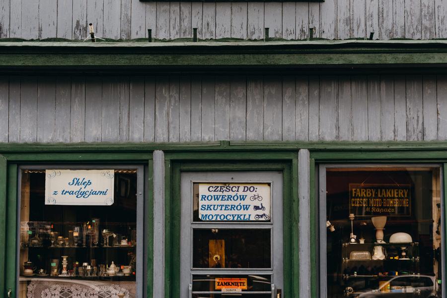 sklep rzeczy ładnych w Dobczycach, reportaż ślubny