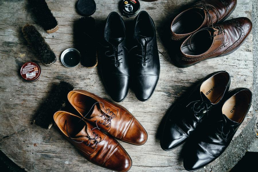 buty pana młodego i świadków, fotografia ślubna Dobczyce
