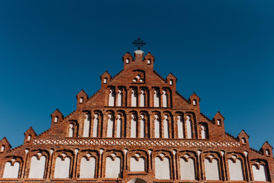 fasada kościoła św. Mikołaja w Bochni,