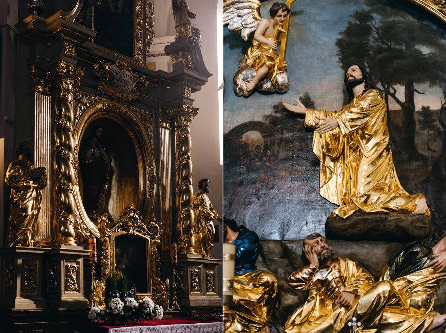 rzeźby i dekoracje w Bazylice św. Mikołaja w Bochnii