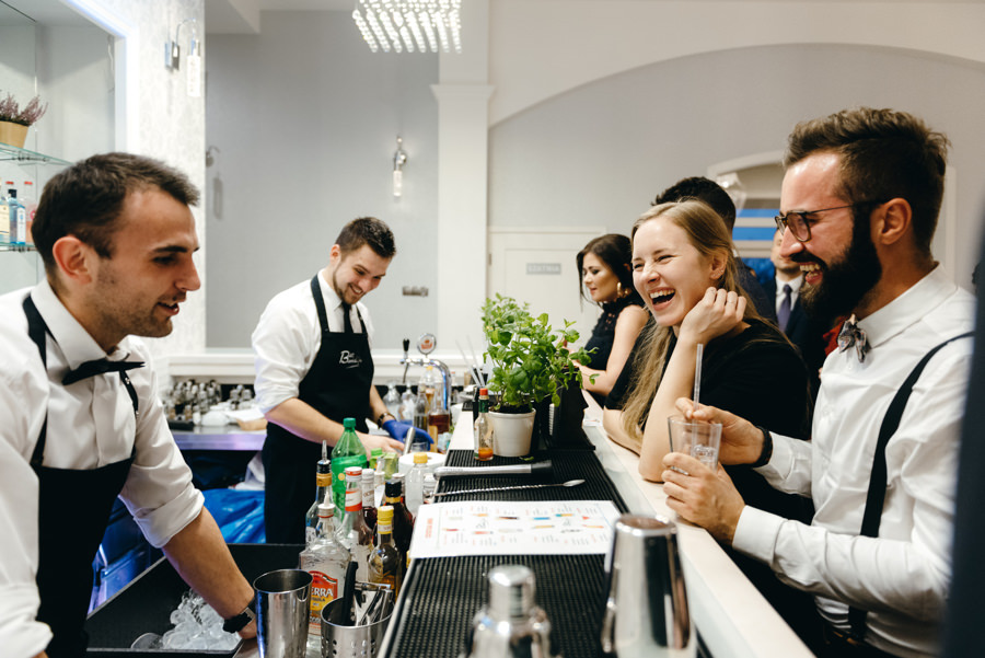 drink bar na weselu, hotel panorama garden nowy wisnicz