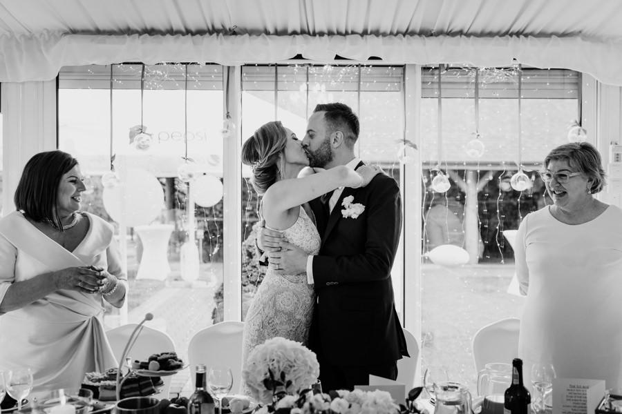 impreza weselna, przywitanie na weselu
