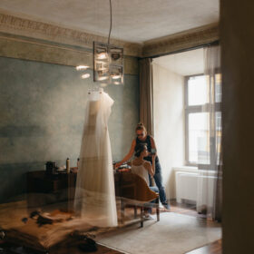 przygotowania ślubne, suknia ślubna