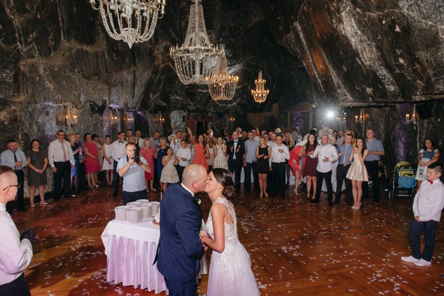 wesele w kopalni. kopalnia soli w wieliczce
