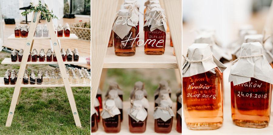 dekoracje weselne, ślub w plenerze