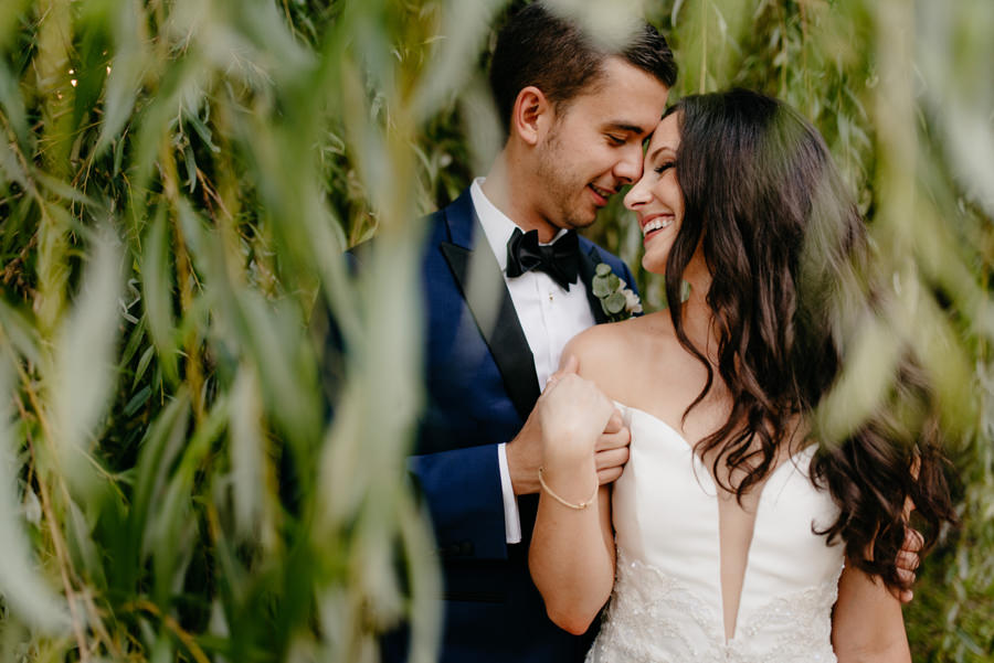 sesja w dniu ślubu, para młoda, dwór sieraków, fotograf ślubny Kraków