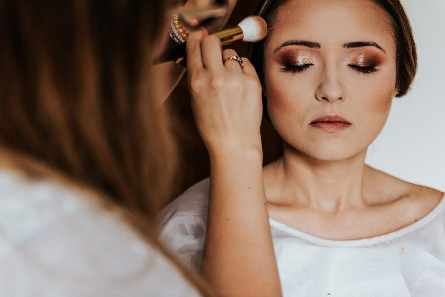 makijaż ślubny panny młodej, klaudia kłos makeup artist,