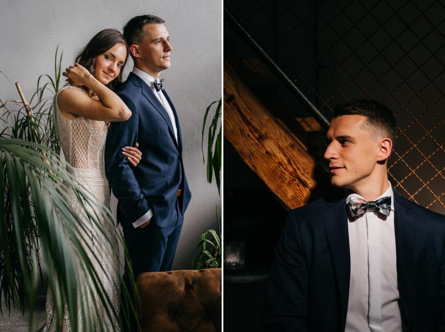 portrety pary młodej