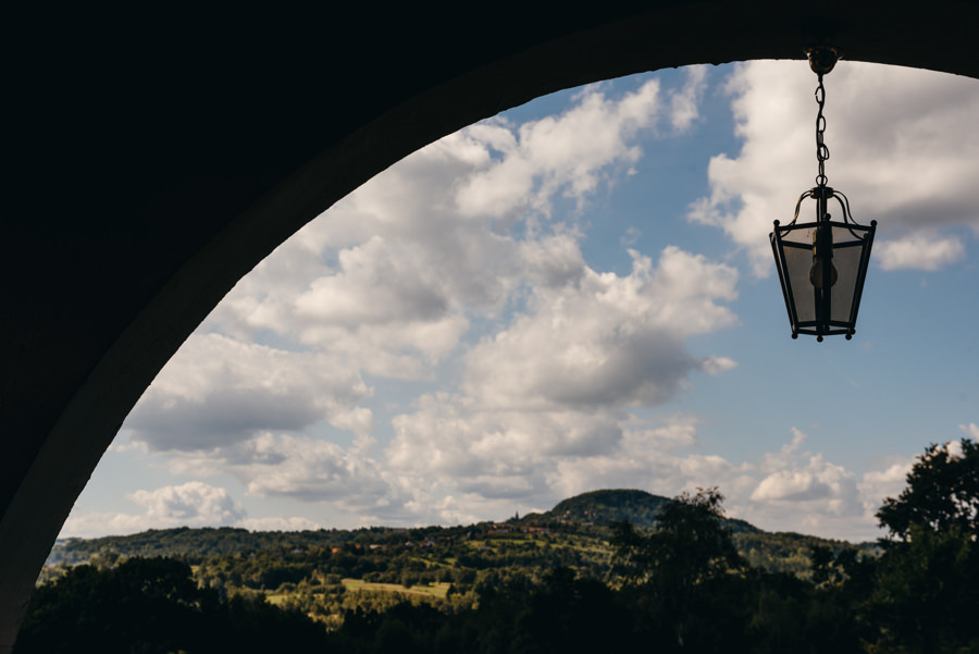 villa love, widok na kalwarię zebrzydowską