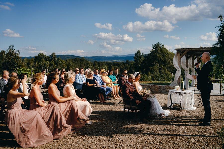 ślub w Villa Love, ceremonia humanistyczna