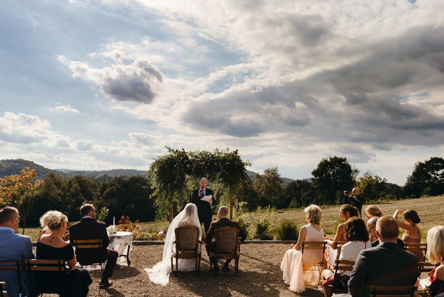 ślub w Villa Love, ślub z pięknym widokiem w małopolsce