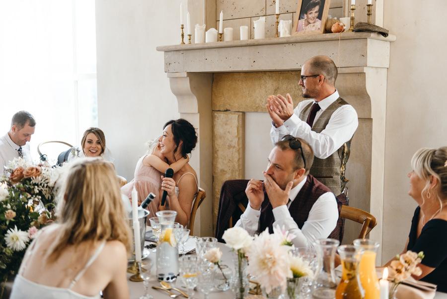 wesele w villa love, przemówienie panny młodej, emocje, wzruszenie córki
