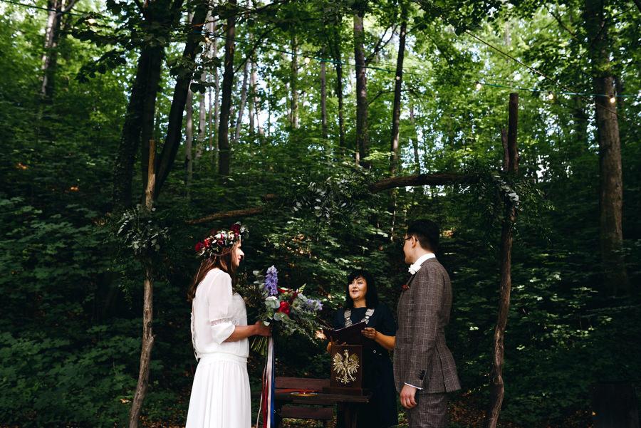 stara kruszarnia, ślub w plenerze, ceremonia cywilna